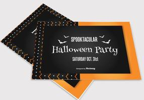 Carte simple de Halloween