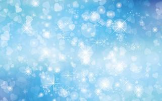 Bokeh glitter background illustration vecteur