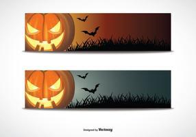 Ensemble de bannière de Halloween
