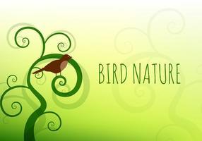 Vettore di natura uccello