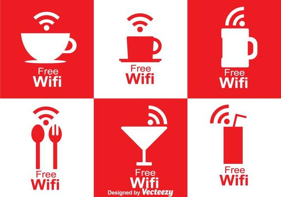 Cafe Wifi Symbol Download Free Vectors Clipart Graphics Vector Art You can now download for free this wifi symbol transparent png image. cafe wifi symbol download free