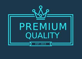 Free Vector Line Crown Logo