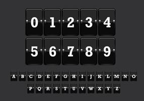 Number Counter Vector 2