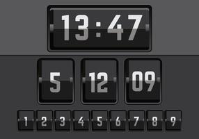 Vector de número de contadores