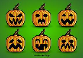 Pixel pumpkins