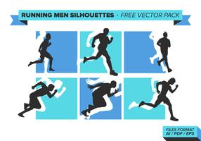 Köra män fri vektor pack