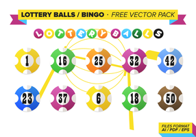 Bolas de Lotería Bingo Free Vector Pack