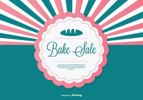 Bake Sale Background Illustration
