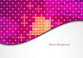 Fond de mosaïque vectorielle gratuite