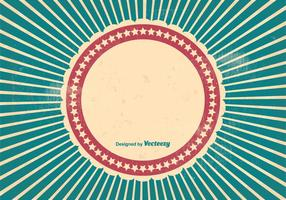 Grungy Sunburst Style Background