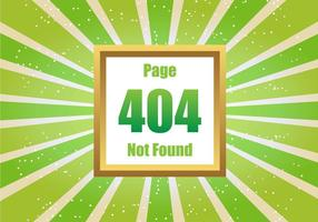 Free Green 404 Vector
