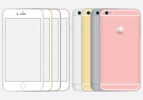 IPhone 6 Vectores