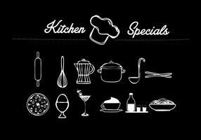 Objet vectoriel de cuisine
