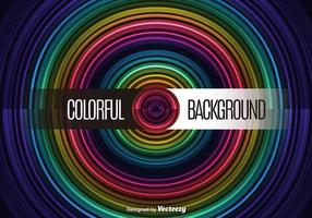 Circle colorful background vector
