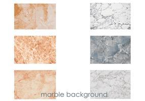 Vecteurs de fond de marbre