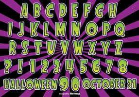 Ensemble Alphabet Halloween