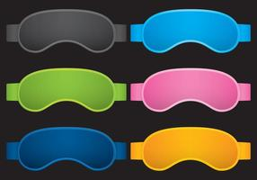 Sleep Masks vector