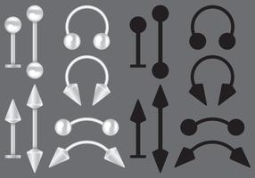 Body Piercing Vectors