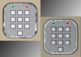 SuperRo0t Digitale Keypads Flat and Extruded