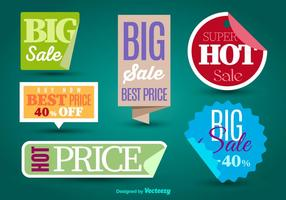 Verkauf Etiketten