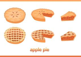 Apple Pie Vectores
