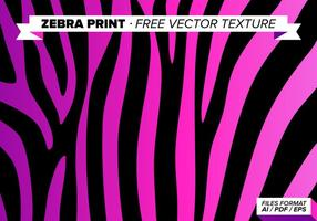 zebra print vector background download free vector art stock