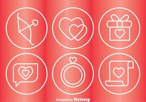 Love Circle Icons