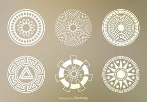 Gratis Crop Circles Vector