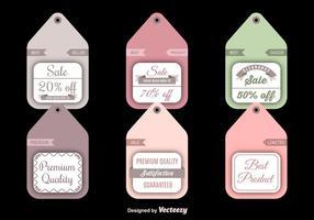 Vente et étiquettes à rabais