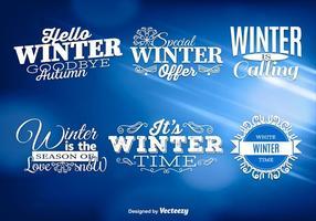 Messages d'hiver