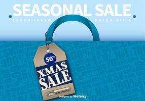 Publicité sur la vente saisonnière