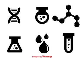 Laboratory Black Icons
