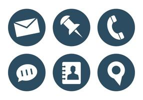 Vector Satz von Office Icons