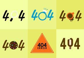 404 Vectores de error.