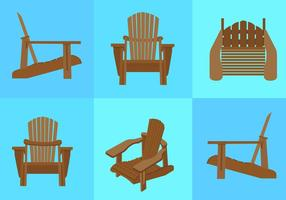 Adirondack stoel strand