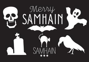 Samhain Vector Illustraties