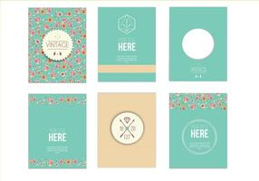 Vintage Greeting Design vector