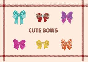 Design Cute Bow vecteur