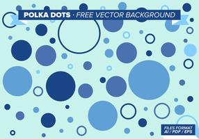 Polka Dots Free vector background