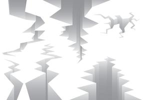 Vecteurs de ligne de défaut sismique