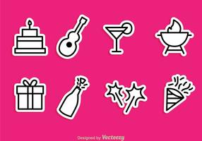 Vector Party Pictogrammen