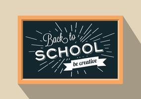 Antecedentes do vetor Back To School grátis