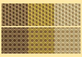 Vectores de textura de mimbre