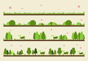 GRATIS GRASS OCH PLANTVEKTOR