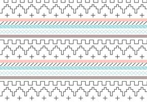 Trendy Pastel Pattern Vector Background