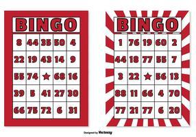 Juego de cartas de bingo