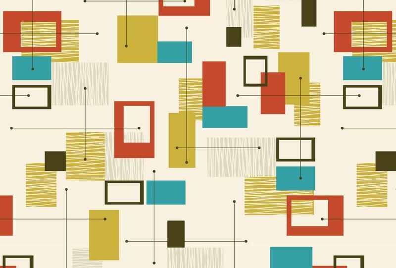 Libre retro sin fisuras patrón - Descargue Gráficos y Vectores Gratis