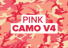 Pink Camo Vector Background Texture V4