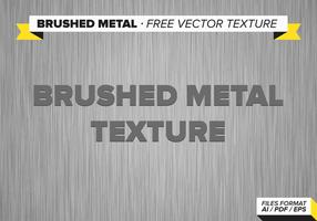 Metal cepillado textura vector libre
