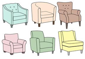 Freier Sessel Vektor